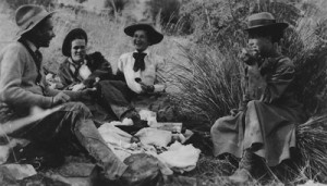 Picnic at Apache Peak, 12/31/1909